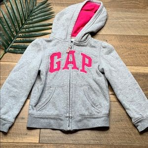 Gap Zip Up Hoodie Sweatshirt Sz 5